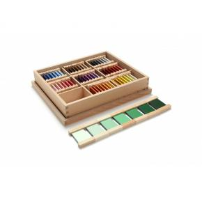 Third Box of Colour Tablets - Wooden